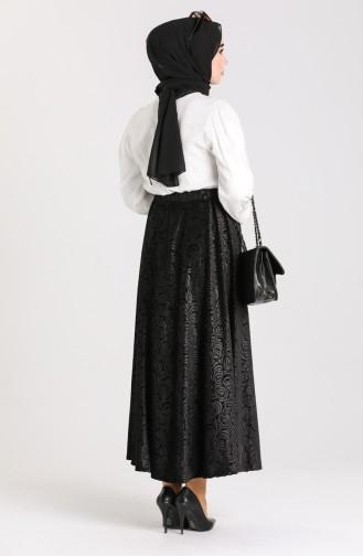 تنورة أسود 2190-01