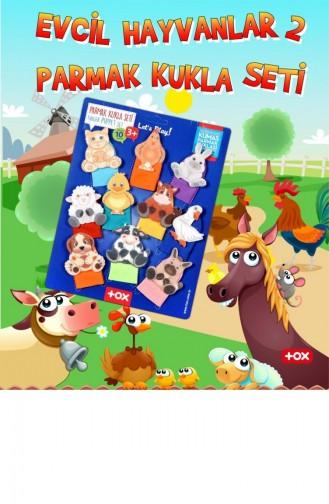 2 Set 20 Parça Tox Evcil Hayvanlar Ve Vahşi Hayvanlar Parmak Kukla 77 2 78 1 T040300016