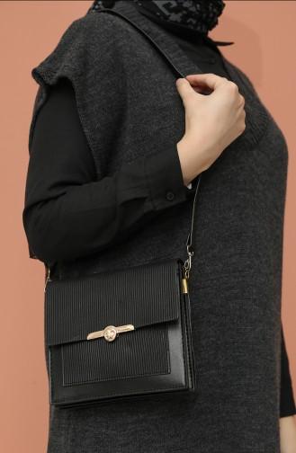 Black Shoulder Bags 4015SI