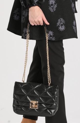 Black Shoulder Bags 10709SI