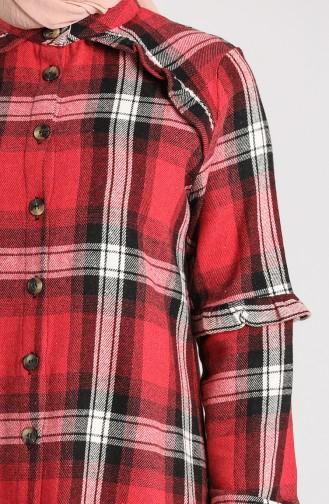 قميص أحمر 5604-02
