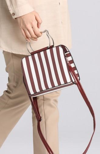 Claret Red Shoulder Bags 10698BO