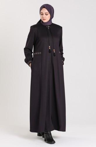 Purple Abaya 0009-04