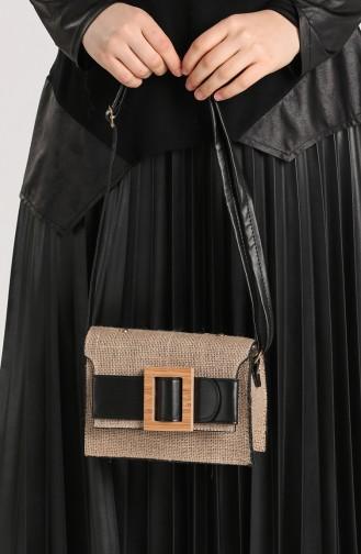 Black Shoulder Bags 10696SI