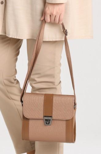 Brown Shoulder Bags 10702KA