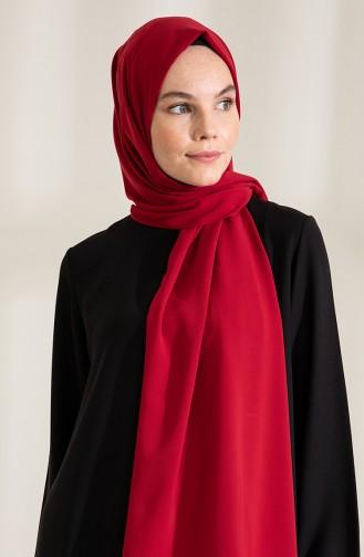 Pure Scarfs Medina Silk Scarf 1mi1-30 Cherry 1Mİ1-30