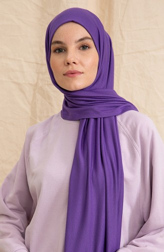 Violett Schal 1-07