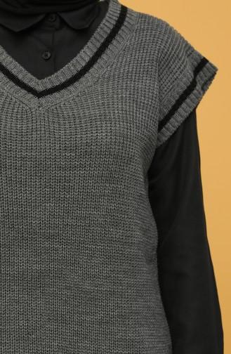 Grau Pullover 0119-03