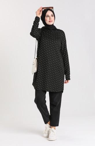 Tunique Noir 1476-01