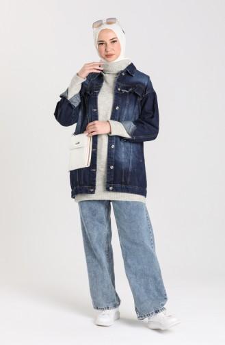 Veste Bleu Marine 1128-02