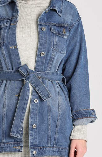 الجاكيت أزرق جينز 1129-01