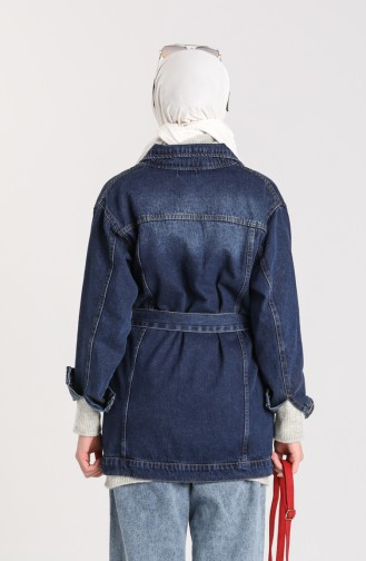 Veste Bleu Marine 1129-03