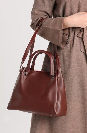 Claret red Shoulder Bag 4012BO