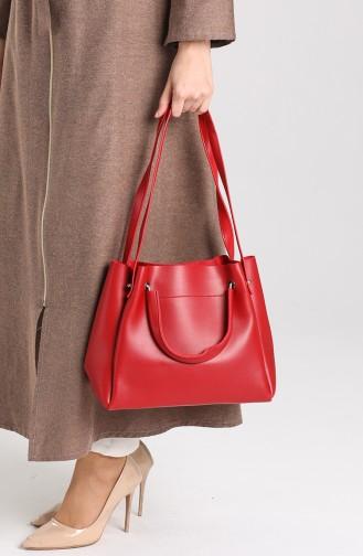 حقيبة كتف أحمر 4012KI
