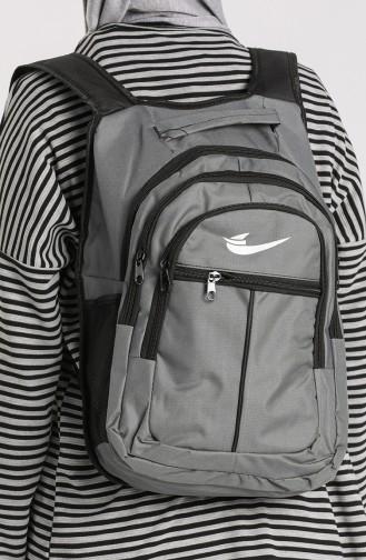Gray Back Pack 10703GR