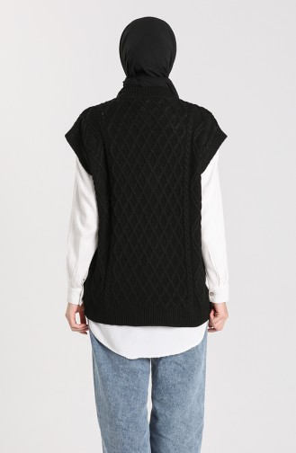 Knitwear V-neck Sweater 4267-04 Black 4267-04