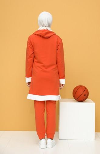 بيجامة الرياضة برتقالي 20046-10