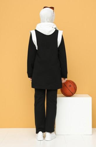 Eşofman Takım 20086-01 Siyah