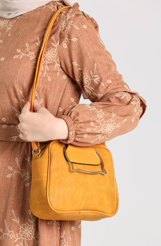 Yellow Shoulder Bags 10694SA