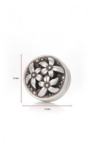 Silver Gray Shawl Scarf Needle 11-30-101-00-12