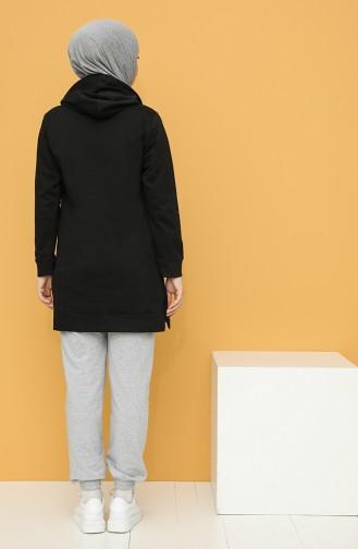 Sweatshirt Noir 20044-12