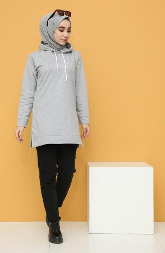 Sweatshirt Gris 20044-16
