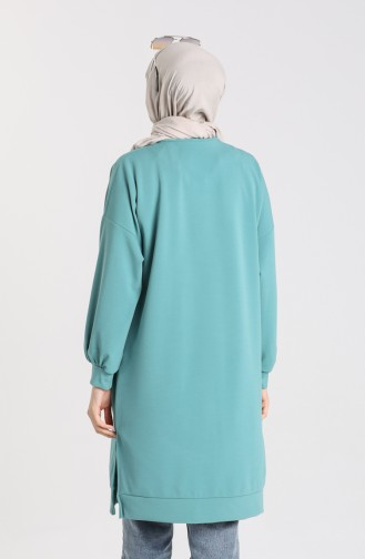 Sweatshirt Vert noisette 1145-01