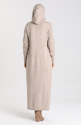 Hooded Sports Dress 2343-03 Mink 2343-03
