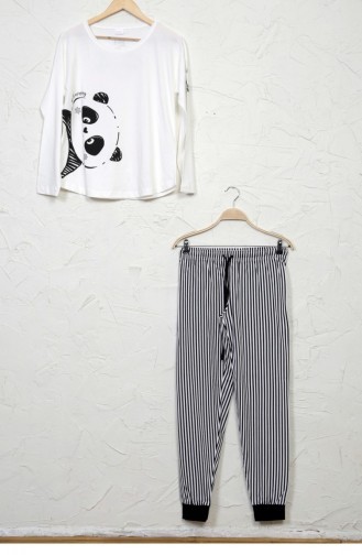 White Pyjama 81621623.