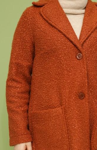 Veste Couleur brique 20577-04