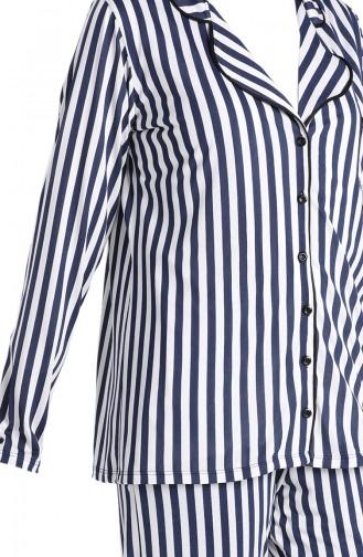 Pyjama Bleu Marine 5625-01