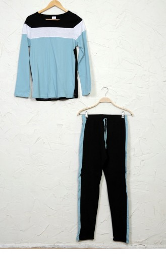 Pyjama Vert Menthe Foncé 42370000.KOYUMINT
