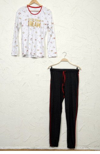 Vienetta Pamuk Pijama Takım 50820094 Grımelanj