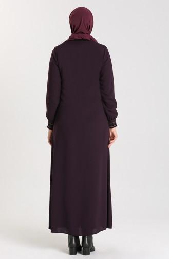 Purple Abaya 2012-01
