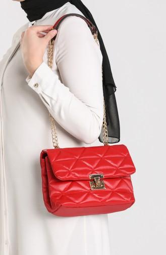 Red Shoulder Bags 10709KI