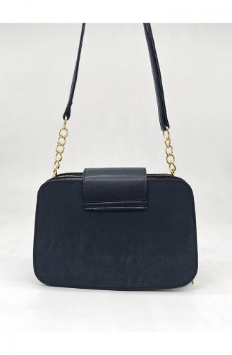 Navy Blue Shoulder Bags 3543-45