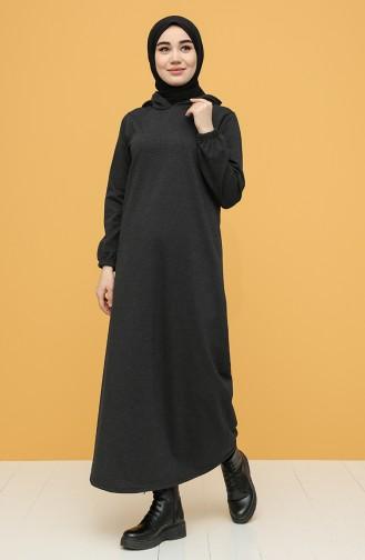 İki İplik Spor Elbise 6003-02 Antrasit