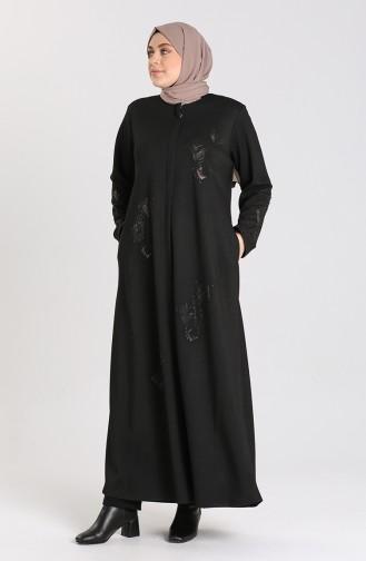 Black Abaya 2031-01