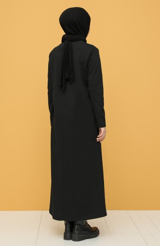 Robe Hijab Noir 6000-05