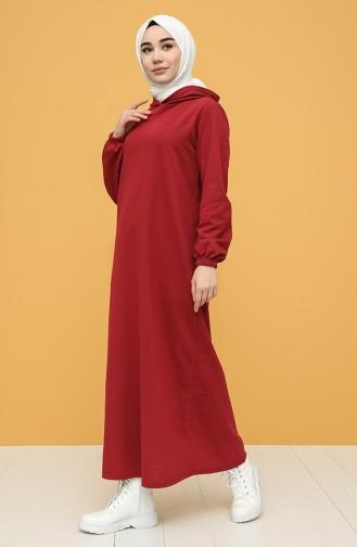İki İplik Spor Elbise 6003-03 Bordo