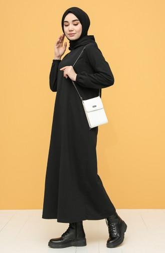 İki İplik Spor Elbise 6003-05 Siyah