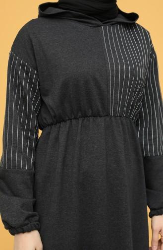 Robe Hijab Antracite 6004-02