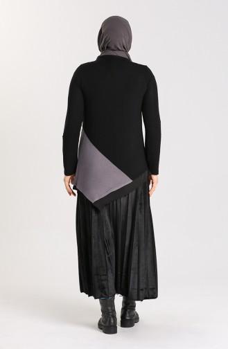 Tunique Noir 0206-03