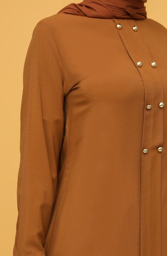 Buttoned Tunic 12150-03 Tobacco 12150-03