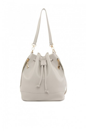 Gray Shoulder Bags 87001900039467