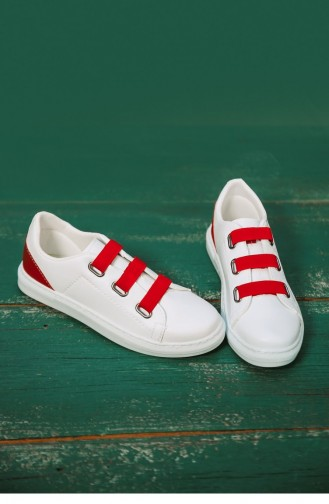 White Sport Shoes 04