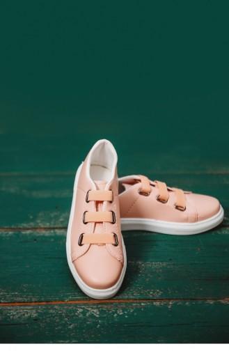 Pudra Bayan Spor Ayakkabı Sm La05