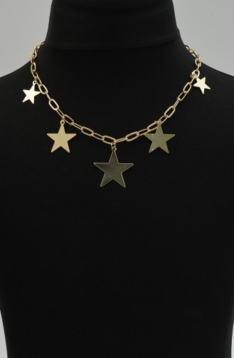 Gold Colour Necklace 0029-03