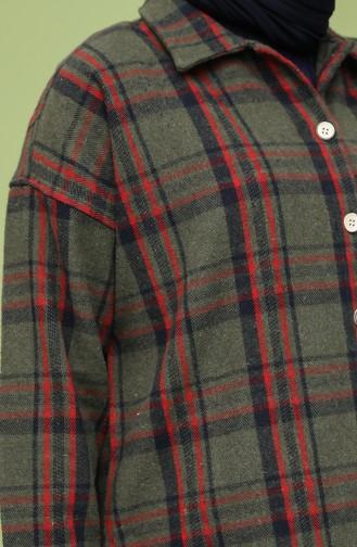 قميص كاكي 0125-04