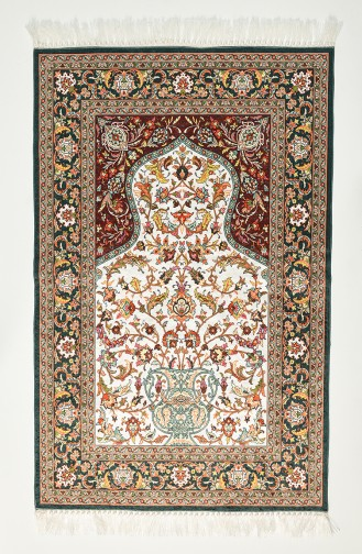 Green Praying Carpet 1006-01
